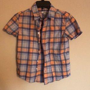 EUC Boys button down shirt size M (8/10)